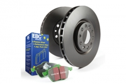 EBC Brakes Greenstuff Pad and OE Replacement Disc Kit