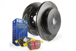 EBC Brakes Yellowstuff Pad and BSD Slotted Disc Kit