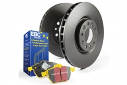 EBC Brakes Yellowstuff Pad and OE Replacement Disc Kit