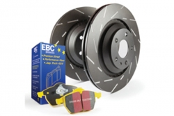 EBC Brakes Yellowstuff Pad and USR Slotted Disc Kit